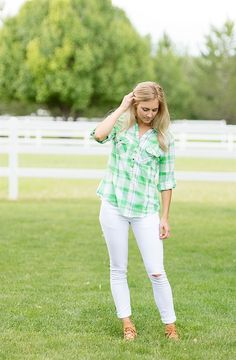 A great plaid shirt is a necessity in any wardrobe. Dress is up, dress it down, these plaid shirts can be perfect for any occasion and will take you anywhere you need to go!