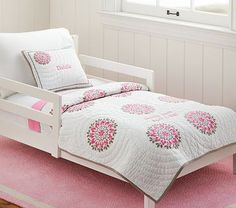Dahlia Toddler Quilted Bedding