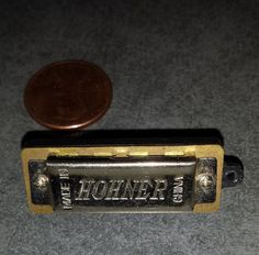 HOHNER miniature real working harmonica by SockPuppetProduction