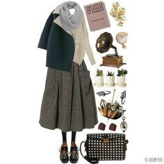休闲长裙 Polyvore, Image, Outfits, Style, Fashion, Clothes, Moda, Suits, Stylus