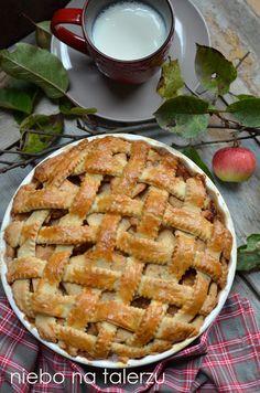 niebo na talerzu: Szarlotka amerykańska Apple Pie, Dishes, Food, Europe, Kitchens, Tablewares, Essen, Meals, Yemek