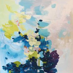 """""""Heaven"""" by Michelle Armas. This painting is sublime. Makes me feel at peace. Love it, the colors are perfection."""