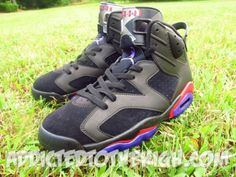 Air Jordan VI Raptors Custom