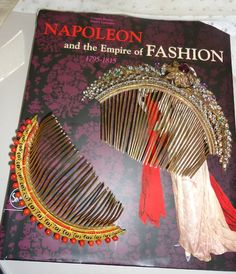 #Napoleon #Empire #Directoire #Regency #Fashion Empire Time, Hair Jewelry, Jewellery, Victorian Hairstyles, Fashion Accessories, Hair Accessories, Regency Dress, Design Boards, Head Bands