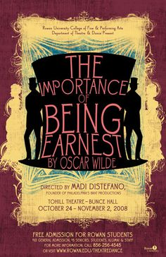 The Vital Importance of Being Earnest | Southern Bluestocking