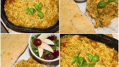Gryterett med kylling og basilikum