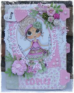 Besties card by Tineke