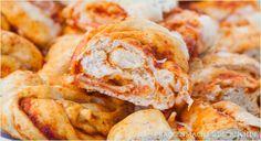 Das perfekte Partybrot-Rezept: Gefülltes Pizzabrot // stuffed pizza bread recipe