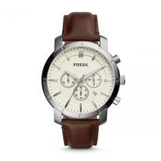 Fossil BQ1280 - Grab the scintillating stones.  #DesignerPoshWatches #ForHim #Gift #Watches #Watchcollection #UK #Classic_Watches #BestGifts #Trends_Watch #Watchoholic #Formens #Wristwatch #quartzwatch #watch #time #watchlover #watchaddict #watchoftheday #luxurylifestyle #watchesformen #Fossil #BQ1280 Brown Leather Watch, Leather Case, Fossil Watches, Weekend Style, Stainless Steel Case, Smooth Leather, Quartz Watch, Chronograph, Watches For Men