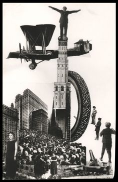 'About that' art print by Alexander Rodchenko It seems to be a hand-made montage in black and white