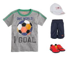 A soccer-inspired Dress Like Dad includes J.Crew, Hugo Boss, and Puma. #FathersDay