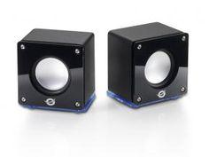 Conceptronic CLLSPK20L Portable Stereo Tube Speakers