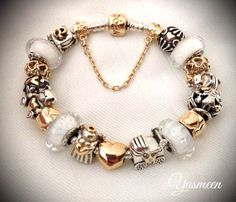 Angelic white. Pandora Bracelet Gold Or White Vos Pandora Vos créations Your…