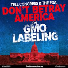 Stop Monsanto and Big Food's secret plan to kill GMO labeling! -----  Current as of JANUARY 10, 2014