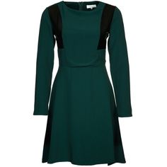 Zalando Collection Summer dress green ($36) ❤ liked on Polyvore featuring dresses, green, green cocktail dress, green dress, mid length dresses, zipper dress and zip dress