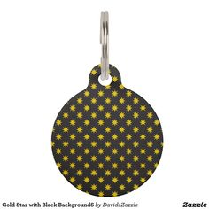 Gold Star with Black Background This Tag is customizable to meet your specific ID needs! This design is available  on many products! Click the link and hit the 'Available On' button near the product description to see them all! Thanks for looking!  @zazzle #star #pattern #decor #home #design #dog #bed #pet #animal #friend #family #accessory #accessories #buy #sale #shop #shopping #owner #fun #sweet #fido #woof #awesome #cool #chic #modern #style #bed #collar #leash #bowl #tag #color #blue…