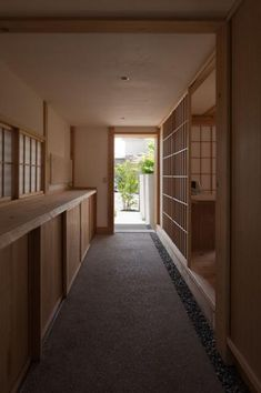 oh7027a Japanese Home Design, Japanese Modern, Japanese Interior, Japanese House, Asian Interior, Japan Architecture, Architecture Design, Tatami Room, Hallway Decorating
