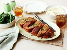 You can substitute ground beef in this meatloaf recipe, if you wish. But you save the calories by using ground chicken. This recipe has a great flavour, texture and aroma!
