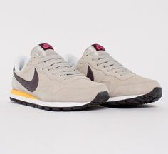 88056aa823cc Buy Nike Air Pegasus 1983 LTR re-issue running shoes in Pale  Grey Madeira-Laser Orange-Pink Foil. Consortium