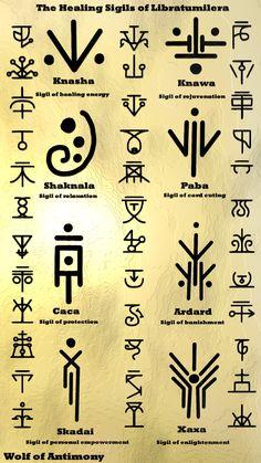 Libratumilera: Healing Sigils – Wolf Of Antimony OccultismYou can find Magic symbols witchcraft and more on our website.Libratumilera: Healing Sigils – Wolf Of Antimony Occultism Rune Symbols, Alphabet Symbols, Alchemy Symbols, Magic Symbols, Shaman Symbols, Celtic Symbols And Meanings, Glyphs Symbols, Witch Symbols, Energy Symbols