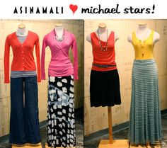 We carry a wide variety of Michael Stars clothing!