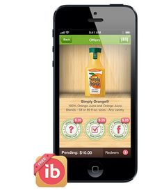 https://ibotta.com   This mobile technology app gives brands and retailers new ways to engage with a targeted set of consumers before and during the shopping experience by asking product relevant questions and offering $$ off the purchase.