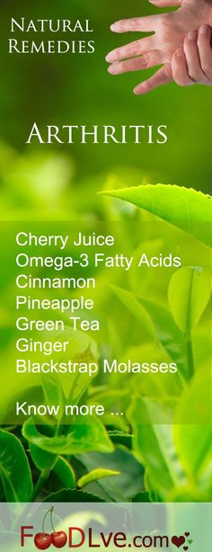 There are many natural remedies for arthritis and rheumatoid arthritis. This list focuses on food remedies. #NaturalHealing [ GroovyBeets.com ]