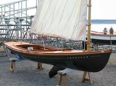 Instant Access to 518 Different Plans - From Small Wooden Boat Plans To Large Sailboat Plans - Free Boat Plans Sailboat Plans, Wooden Sailboat, Sailboat Art, Wooden Boat Building, Boat Building Plans, Free Boat Plans, Sailing Dinghy, Model Boat Plans, Small Sailboats