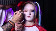 Harley Quinn Suicide Squad Makeup Tutorial