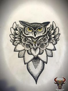 Owl Tattoo Drawings, Outline Drawings, Pencil Art Drawings, Tattoo Sketches, Hasma Tattoo, Buho Tattoo, Owl Tattoo Design, Tattoo Designs, Cute Tattoos
