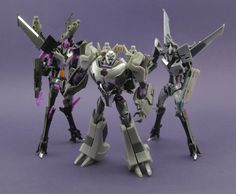 Transformers: Prime Skywarp, Megatron and Starscream