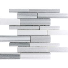 Annex Grigio Natural Stone Mosaic Wall Tile (Common: 12-in x 12-in; Actual: 12-in x 12-in)
