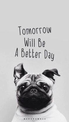 Tomorrow must be a better day~