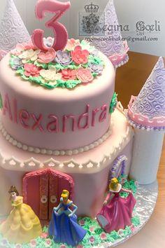 Princess Castle girly cake