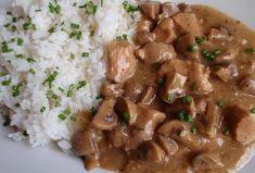 Dušené maso se žampiony Gnocchi, Beef, Ethnic Recipes, Cooking, Meat, Steak
