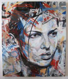 42 Best Ideas For Street Art Graffiti Stencil David Walker David Walker, Walker Art, Graffiti Artwork, Graffiti Painting, Street Art Graffiti, Art And Illustration, Illustrations, Portraits, Portrait Art