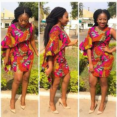 Collection of the most beautiful and stylish ankara peplum tops of 2018 every lady must have. See these latest stylish ankara peplum tops that'll make you stun Trendy Ankara Styles, Ankara Dress Styles, African Print Dresses, African Wear, African Fashion Dresses, African Women, African Dress, African Prints, African Style