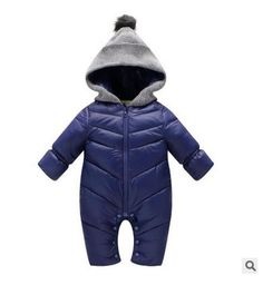 Baby Boy & Girl winter Clothing Rompers Hooded Newborn Baby Boy & Girl winter Clothing Rompers  Baby boy clothes winter children outfit gift children shops products snowsuit duck down store online buy 2017 long sleeve fashion kids blue hooded for sale website online