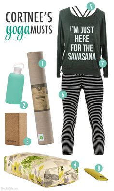 Yoga Must Haves ~ What you will need if you want to do yoga.