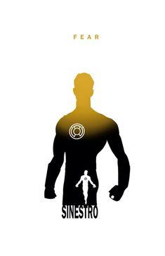 Sinestro - Fear by Steve Garcia