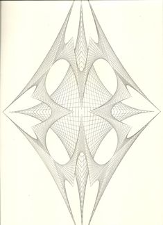 Arte Linear, String Art Patterns, Mathematics, Fractals, Fiber Art, Geometry, Dream Catcher, Origami, Mandala