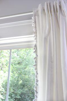tassel curtains