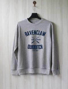Ravenclaw Quidditch Harry Potter Shirt Sweatshirt Sweater by SaBuy