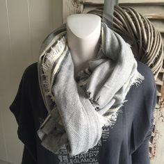 Hammam sjaal (grijs/antraciet)