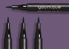 Moodstruck Precision Liquid Eyeliner Go from a winged liner look novice to experienced cat eye connoisseur with this no-smudge, water-resistant, transfer-free liquid eyeliner. https://www.youniqueproducts.com/JLSpears/business/moodstruckliquideyeliner #younique #makeup #liquideyeliner