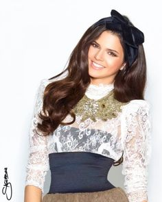 Kendall Jenner, she reminds me of a Barbie doll