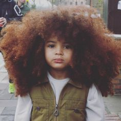 He's a 4-year-old Londoner who loves reading, playing with Legos, and modeling…and he also happens to have this unbelievably glorious head of hair! | Let This 4-Year-Old Boy Teach You How To Style Your Natural Curls