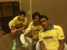 Gillete & Erica Mizutani Oscar and Paulinho Brazilian Team
