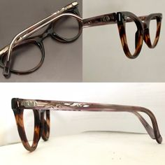 4c6a1df3e30 ... to Stunning Winged Rhinestone Cat Eye Frame Slightly Larger in Tortoise    Blush NOS Tortoise Shell Eyeglasses or Sunglasses Frames Brown