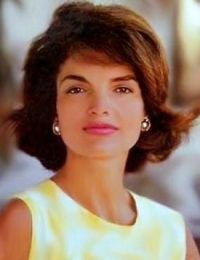 Jacqueline Lee Bouvier Kennedy Onassis (July 28, 1929 – May 19, 1994) was the wife of the 35th President of the United States, John F. Kennedy, and served as First Lady during his presidency from 1961 until his assassination in 1963. She was later married to Aristotle Onassis from 1968 to 1975. For  two decades  she had a successful career as a book editor. She is remembered for her contributions to the arts and historic preservation.